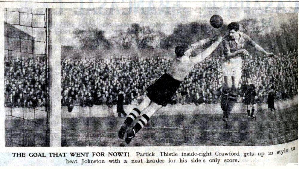 Crawford, Willie scores v Motherwell (A) SC 1954.jpg