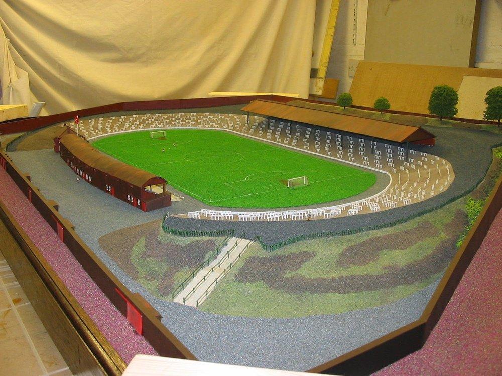 Cathkin Park c1950's scaled model  001.jpg